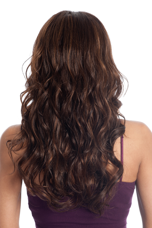 wavy brown hair back view wwwimgkidcom the image kid