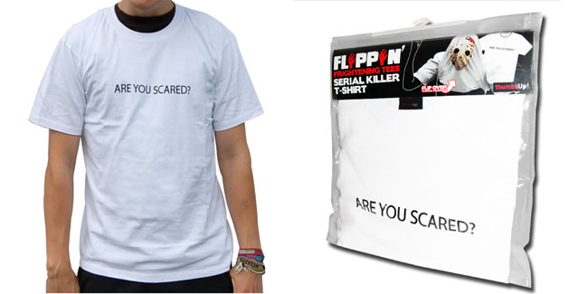 flip up Serial Killer T shirt