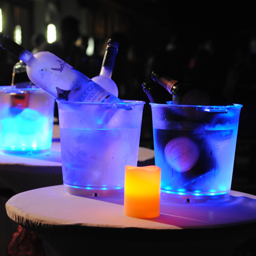 LED-Champagne-Bucket