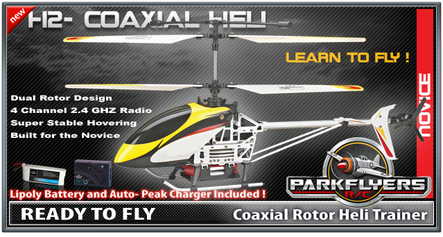 Parkflyers H2 Coaxial Heli Trainer