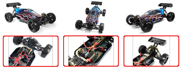 Redcat Rampage XB-E Electric Remote Control Car