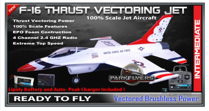 f-16 thrust RC Plane