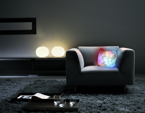 Glowing Moonlite cushion