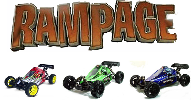 rampage xb 3 different body colors