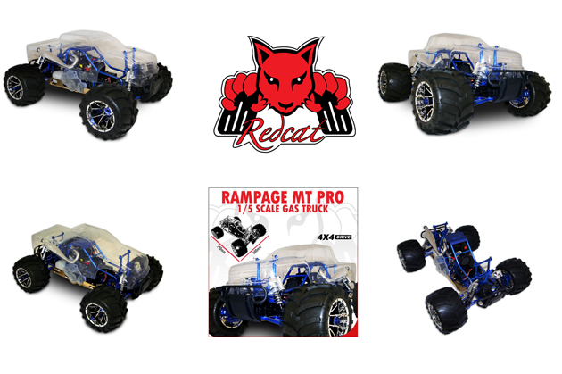 redcat rampage mt pro v3 truck