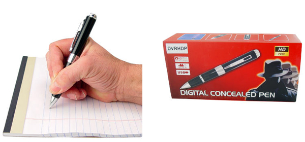 spy camera pens with voice recording