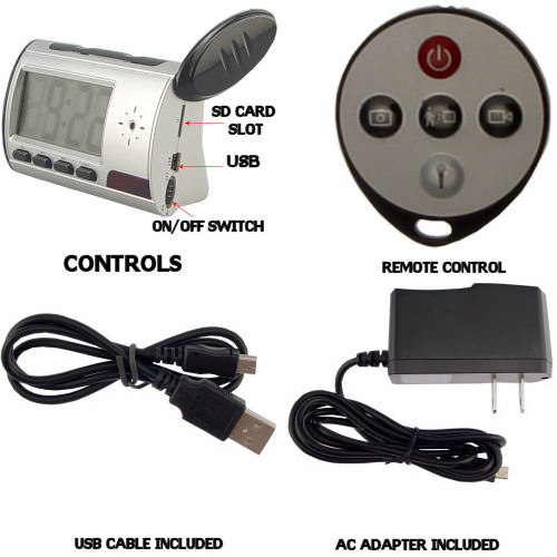 spy camera with motion sensor