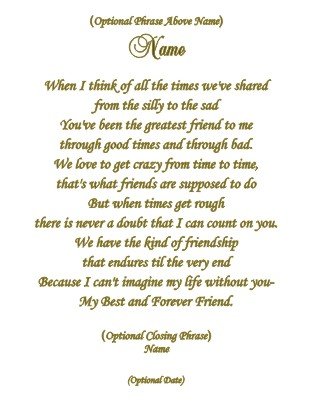 Pictures friends forever poems for girls best friend quotes funylool