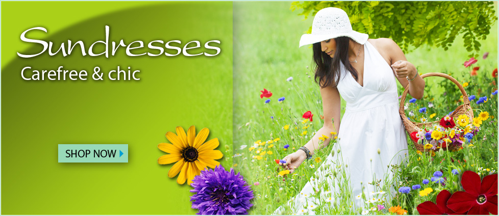 Sundresses - Carefree & chic