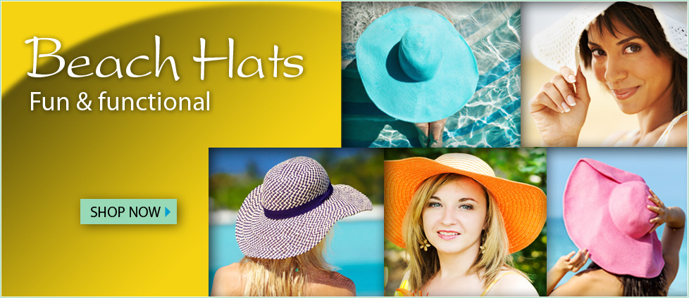 Beach Hats - Fun & functional