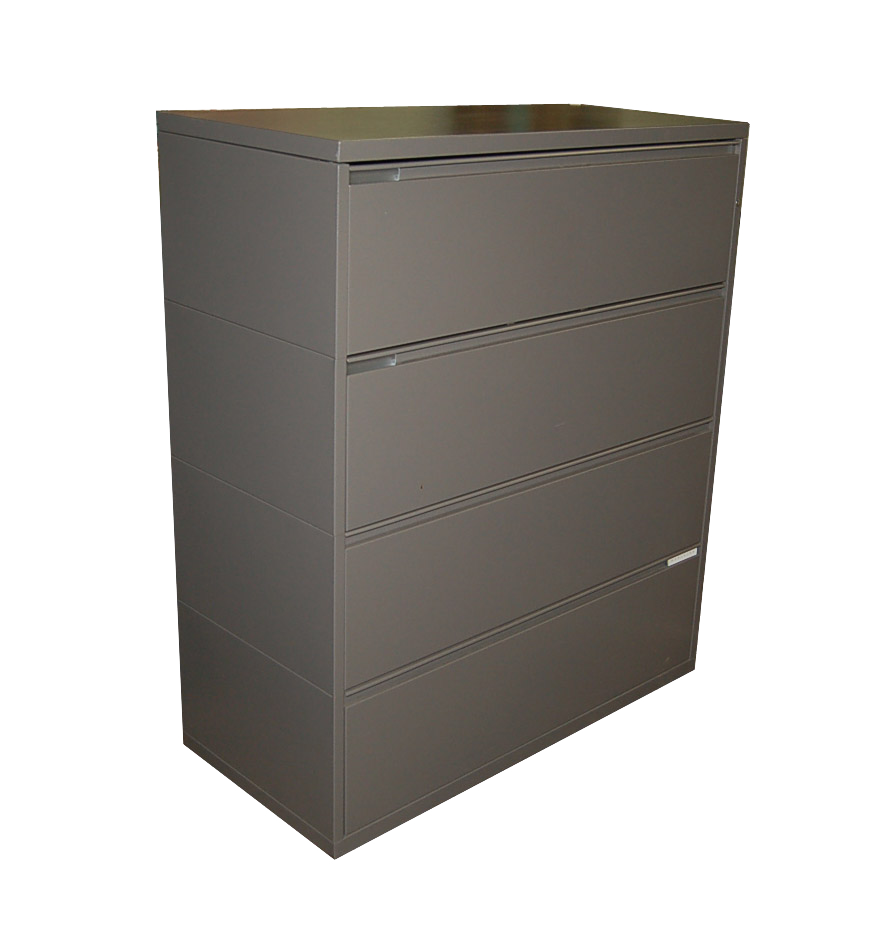 Herman miller 42 four drawer meridian lateral file ebay for Meridian cabinets