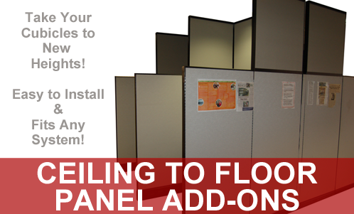 Exclusive Floor to Ceiling Add-On Panels