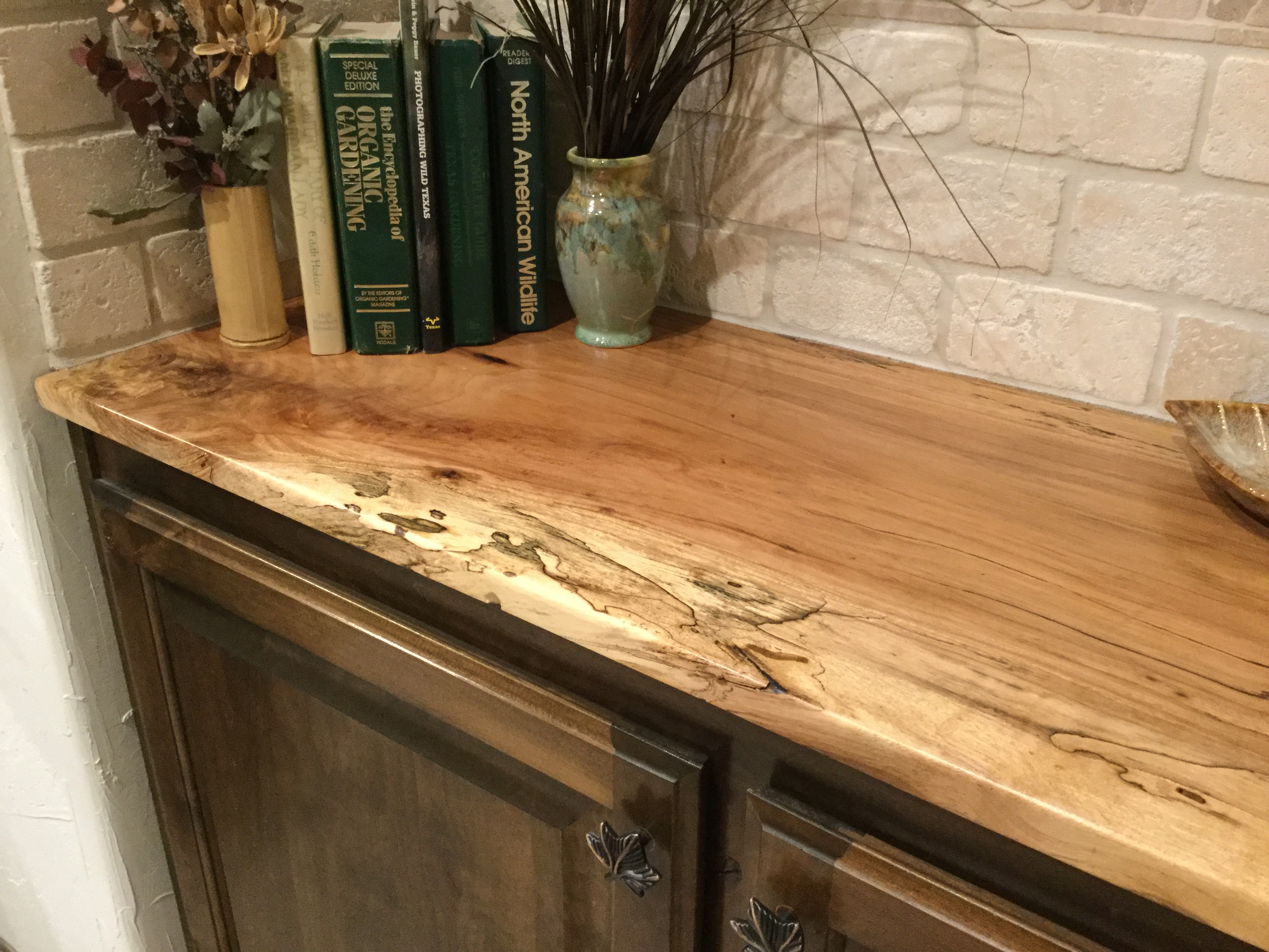 Spalted Pecan Countertop