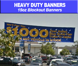 Blockout Banner sample