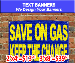 text banner sample