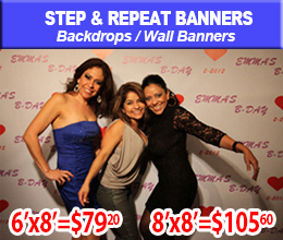 step and repeats banner
