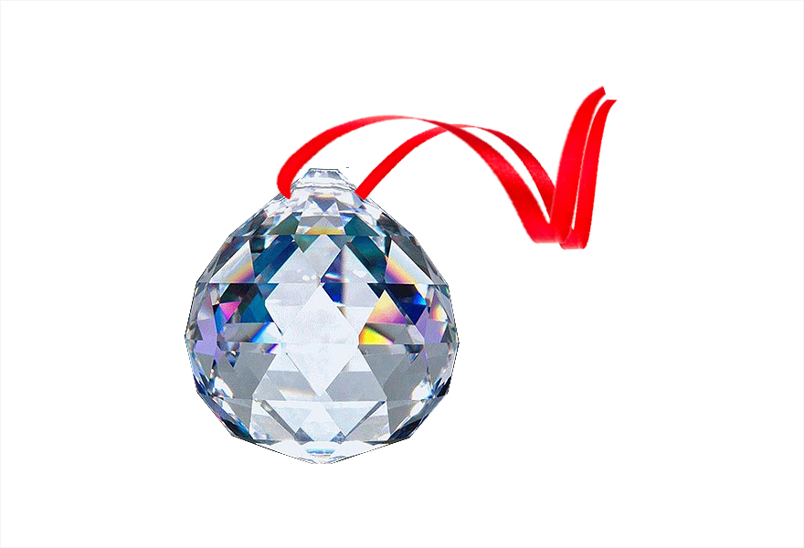 FREE GIFT 30% Leaded CRYSTAL BALL PRISM 30mm
