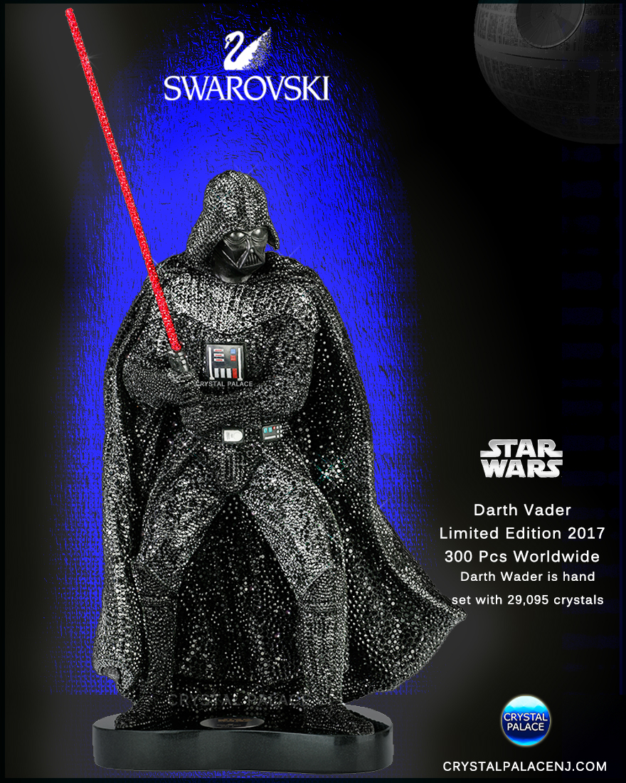 Swarovski Star Wars Crystal Myriad Darth Vader Limited ...