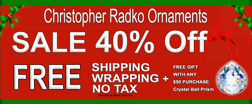 Christopher Radko SALE 2016 Christmas OrnamentS