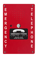 2400-984RD Red Fiberglass Call Box