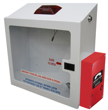 AED Enclosure & Emergency Phone