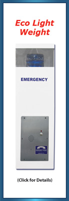 30 inch Blue Light Emergency Call Station (Specialized)