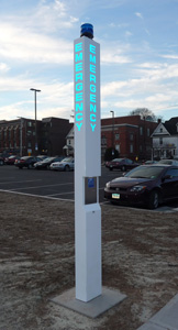 Rath Security Blue Light Emergency Tower
