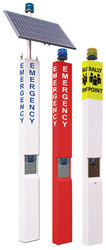 9 ft Emergency Towers - Solar, Standard or Rally Point