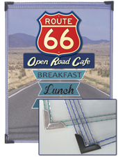 Route 66 Menu Cover Collection™