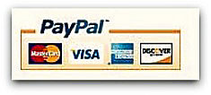Payment Methods Accepted- Mastercard, VISA, AMEX< Discover, Diner's Club, Paypal