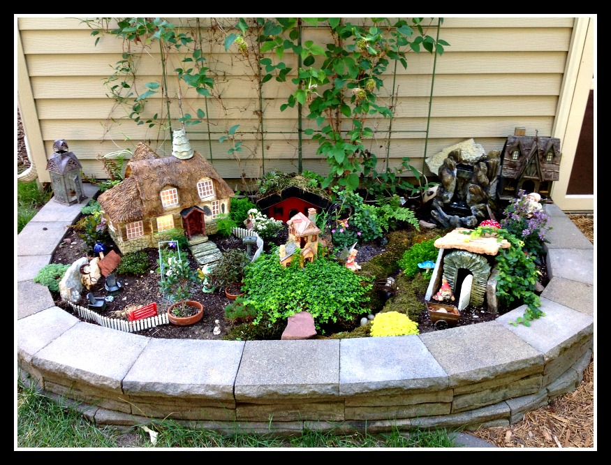 Biggest Fairy Garden Contest Winner