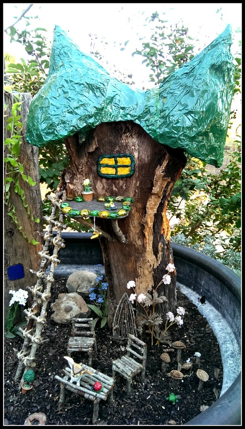 Fairy Chateau With Green Roof Deck Up In The Sky