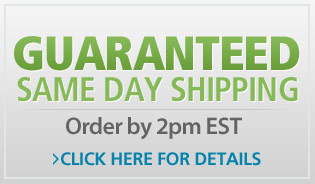 Guaranteed Same Day Shipping