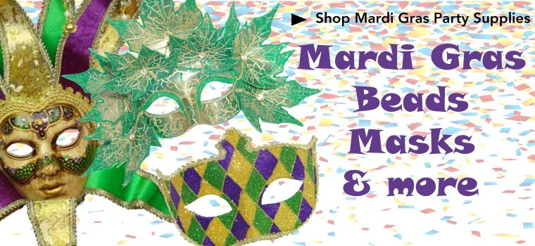 MArdi Gras Day Decorations and Supplies