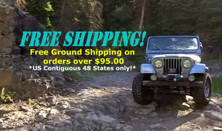 Free Ground Shipping on orders over $95.00