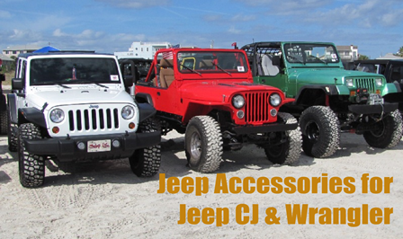 Jeep Accessories for Jeep CJ & Wrangler