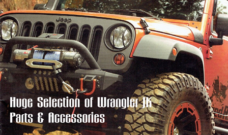 Huge Selection of Wrangler JK Parts & Accessories