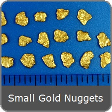 Small Gold Nuggets