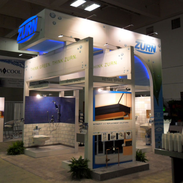 Trade Show Booth Lighting