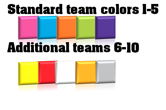 team colors