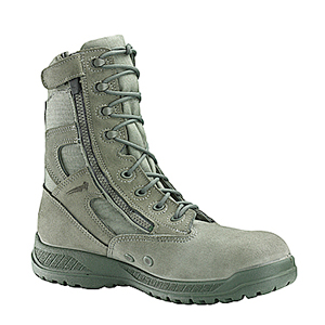 Belleville 610 Z USAF Hot Weather Side Zip Boots, Belleville Sage Green Air Force Approved Zipper Combat Boots