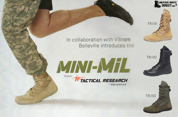 Tactical Research Minimil Boots
