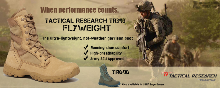 Tactical Research TR393 Military Boot
