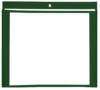 12 x 9 Gusseted Vinyl Job Jackets/Envelopes, Click on the Color Wheel to see available colors