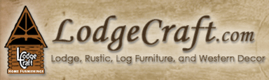 LodgeCraft Logo - Lodge & Rustic Cabin Furniture, and Western Decor - Go to our home page