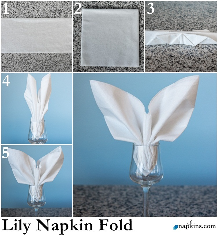 Paper Napkin Folding Amp Fancy Napkin Folds Napkins Com