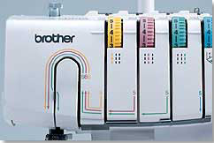 Brother 2340CV Threading