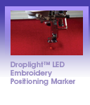 Brother Quattro 3 Droplight<sup>&trade;</sup> LED Embroidery Positioning Marker