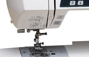 Janome 3160 QDC Start/Stop Button