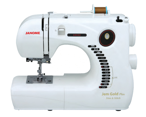Janome Jem Gold Plus 661G Trim and Stitch